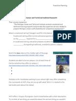 mcti research sheet
