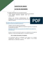 REQUISITOS DE GRADO