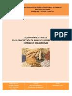 EQUIPOS DE PRODUCCION DE CEREALES