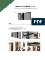 Specification of Black Transparent Display P3.91-7.81 Indoor