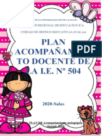plan de acompañamiento 2020 I..E. 504