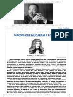 Maçons que mudaram a História - Chevalier Ramsay - Loja Maçônica MARTIN LUTHER KING para Aldo