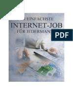 Einfachster Internet Job