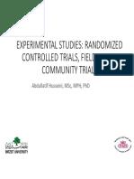 Lecture+12+Experimental+studies