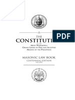 Masonic Law Book