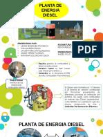 SUSTENTACION PLANTA DE ENERGIA DIESEL