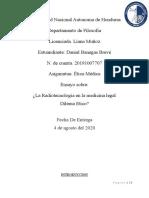 Ensayo sobre La Radiotecnologia en la medicina legal Dilema Etico