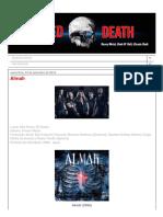 Blessed Death_ Almah