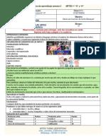 Ficha integradora de aprendizaje del 14 al 18 septiembre 2020 ARTES