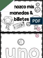 CUADERNILLO MONEDAS Y BILLETES