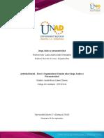 Formato 2 - Organizadores visuales sobre Juego, Lúdica y Psicomotricidad
