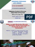 3. LA GESTION, PMI y TRIPLE RESTRICCIÓN.pdf
