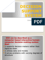 DECISION SUPPORT SYSTEM ppt