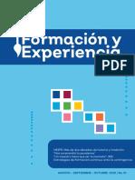 14-10-20 Revista Formación y Educación