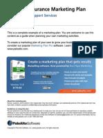 Business insurance marketing plan