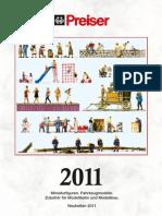 Catalogo Preiser 2011
