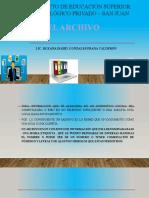 ARCHIVO DOCUMENTAL