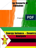Energy Scenario Of Zimbabwe