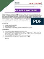 CLASE DE ARTE Y CULTURA DEL 21-05-2020