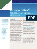 IPPF IMAP SRH in Humanitarian Settings Spanish