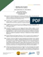 Acuerdo Ministerial MDT 2020 232