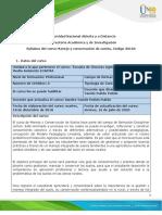 Syllabus del curso Manejo y conservación de suelos.pdf