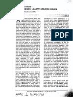 Frege - 1918-1919 - O pensamento. Uma investigacao logica - Trad. Paulo Alcoforado - An. filos. Sao Joao del-Rei, 1999