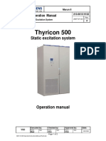 Excitation system - MarunII-Thyricon Operation manual full