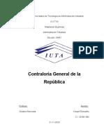 Eva #4 - Trabajo Escrito - Control Fiscal