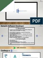 Oportunidade Xamarin - Grace Consulting Tecnologia - SYS Connecta