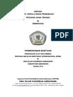Proposal Pengadaan Peralatan Multimedia 2010
