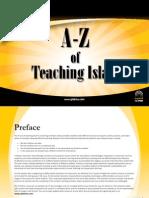 A-Z of teaching Islam