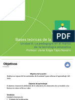 Presentación_Lapedagogía en el marco de la teconología educativa
