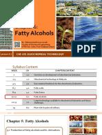 CHE 321_CH5_Fatty Alcohol