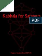 Stephen Bleach - Kabbala for Satanists