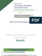 FORMULACION DE INSTRUMENTOS.