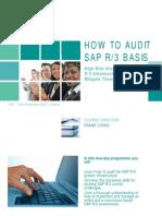 Audit-SAP-Basis-Course
