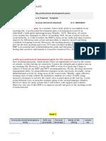 my pdp proffessional development plan new