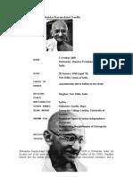Mohandas Karamchand Gandhi