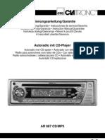 Clatronic AR 687 CD MP3 en-hu
