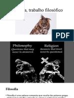 18-19 Filosofia, trabalho filosófico