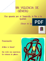 taller Vivir sin Violencia de Género