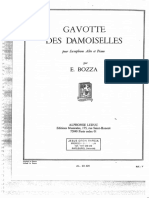 Gavotte des Damoiselles - Eugène Bozza