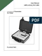 Flexim-F401-Manual