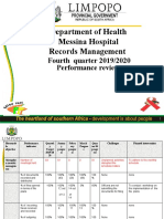 SERVICE DELIVERY REPORT RECORDS FOURTH QUARTER.ppt