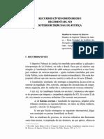 EXPLICAÇÃO RECURSO ORDINÁRIO E ESPECIAL