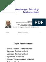 sessi 4 - Perkembangan Teknologi Telekomunikasi