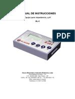 Instruções de Uso Impedancio-pHmetria AL-4