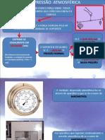 4 - Pressão atmosférica e CIrculação geral da atmosfera