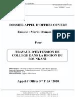 DAO -EXTENSION DE COLLEGE _version 10 mars 2020